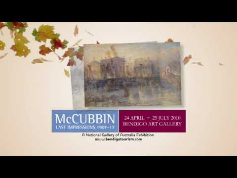 Bendigo Tourism; McCubbin TV commercial