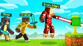 IRONMAN TROPHY HUNT In MINECRAFT! (Speedrunner vs. Hunters)