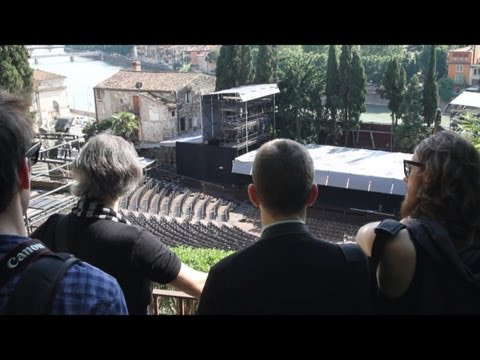 Opera projects for open air theatres workshop at the Opera Academy Verona
