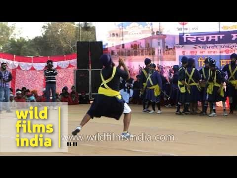 Punjab hosts International Gatka Festival in Anandpur Sahib