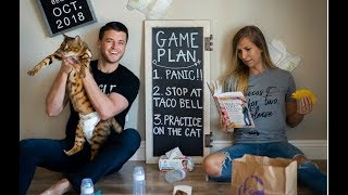 EMOTIONAL PREGNANCY ANNOUNCEMENT TO HUSBAND AND FAMILY