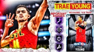 DIAMOND TRAE YOUNG GAMEPLAY! THE WALKING GREEN MACHINE! NBA 2k20 MyTEAM
