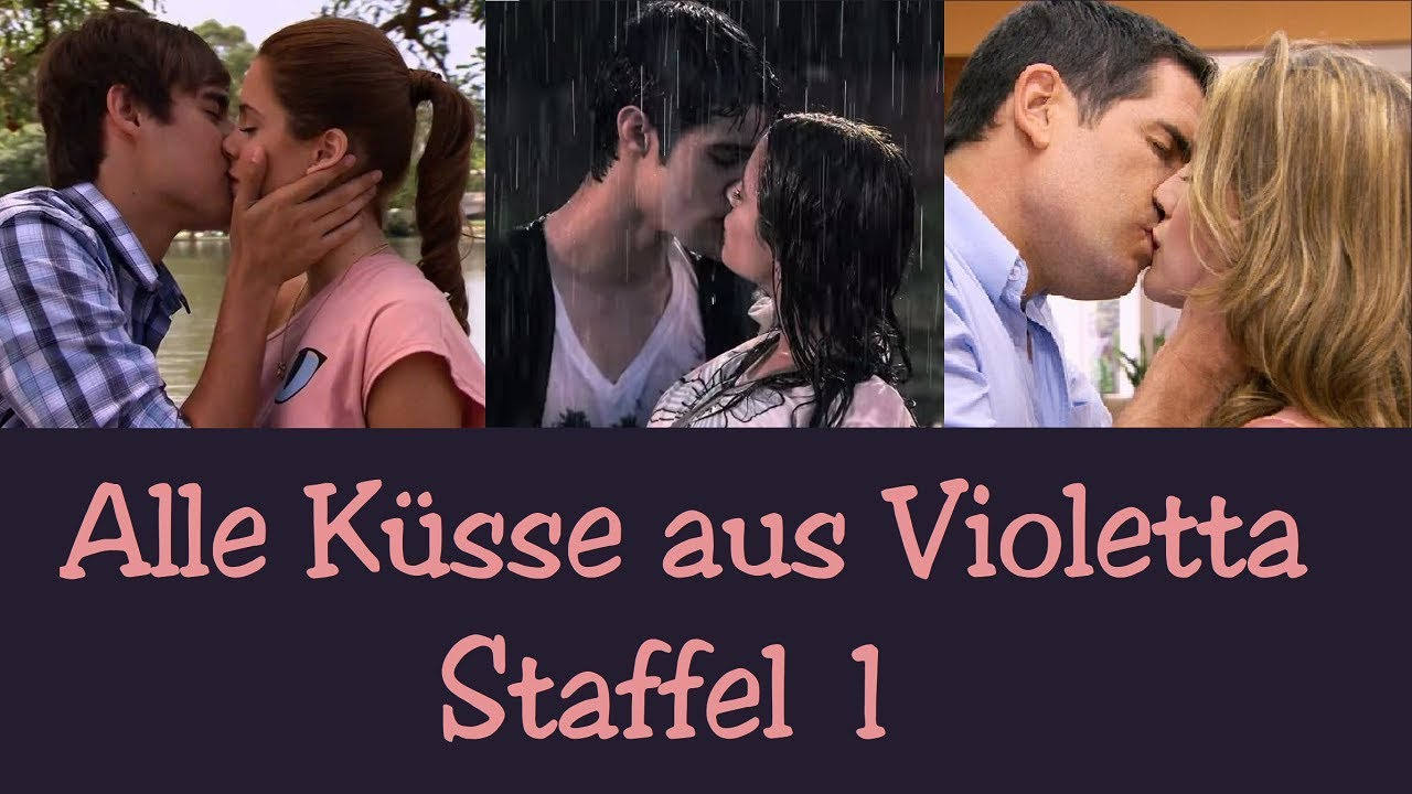 Alle Küsse aus Violetta 1 - YouTube