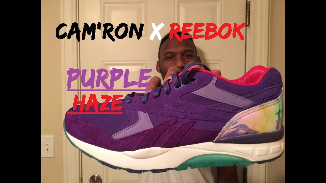 5450b5460f30 Reebok x Cam ron Ventilator Supreme Purple Haze Unboxing Full Review ...