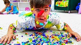 Nastya, Artem und Mia - Eine Sammlung von Geschichten über haarige Nägel und Lego im Gesicht