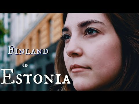 ROMANCE in ESTONIA | Helsinki to Tallinn by ferry