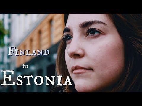 ROMANCE in ESTONIA | Helsinki to Tallinn by ferry
