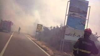 pozar vodice(gacelezi) 10.7.2012. vatrogasci brodarica no. 4