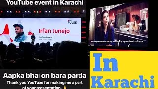 Youtube Pulse Event In Karachi Femouse Pakistani Youtuber irfan junejo Amna 3 Idiot 2019