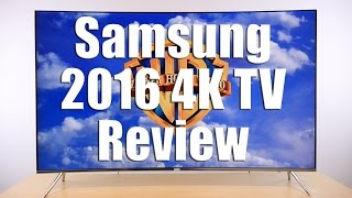 samsung KS7500/ KS8500 (UE55KS7500) 2016 4K TV Review