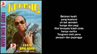 Farid Bani Adam Belaian Kasih Lirik.mp3