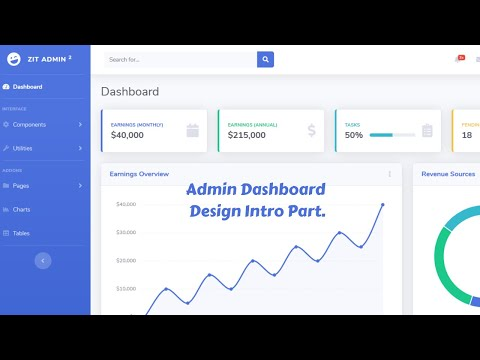 web-design-beginners-tutorial-2020-bangla-admin-dashboard-template-design-by-bootstrap-4-intro-part