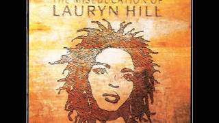lauryn hill lost ones