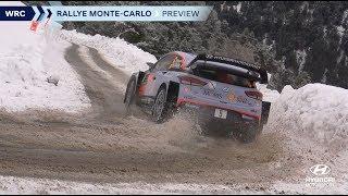 Rallye Monte-Carlo - Hyundai Motorsport 2019