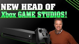 HUGE Shake Up At Microsoft! There's A New Head Of Xbox Game Studios!