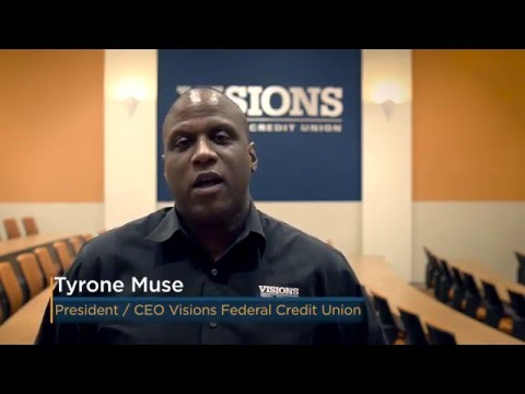 CEO Ty Muse Welcomes You to Visions Federal Credit Union