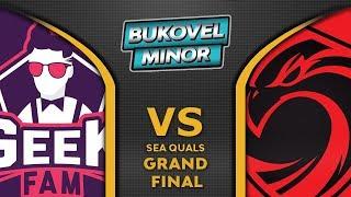 Geek Fam vs Cignal Ultra Grand Final SEA Bukovel Minor 2019 Highlights Dota 2