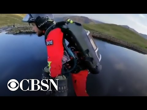 Paramedics in England testing jet suits as new way to deliver medical assistance