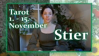 STIER ♉️ Liebe: ♥️ 'Achso 💡🧰' ♥️ (1. - 15. November) Tarot-Legung