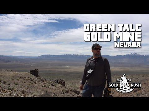 Green Talc Gold Mining Claim - Nevada - 2017