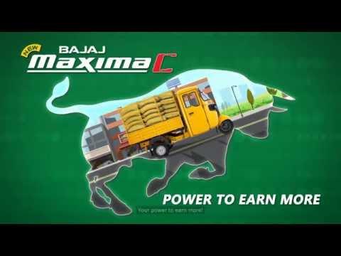 Bajaj Maxima C - Power To Earn More