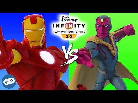 Iron Man VS Vision Marvel Battlegrounds Disney Infinity 3.0 Versus - 동영상