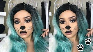 Halloween Cat Makeup Tutorial | Daisy Marquez