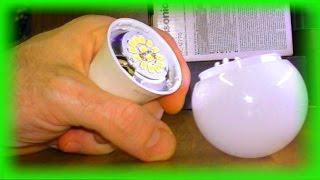 Как отремонтировать светодиодную лампу