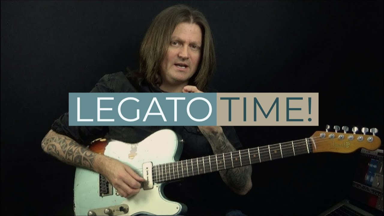 More Blues Legato (Fast Legato Lick Using Blues Tonality)