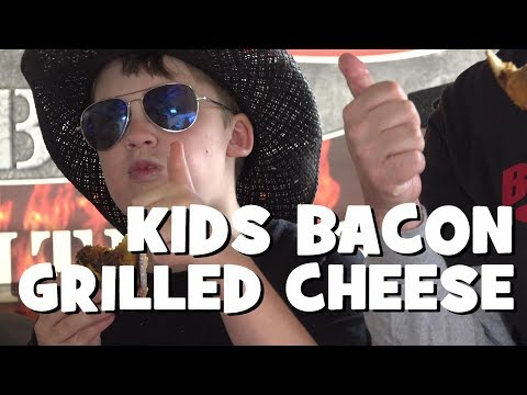 Kids Smoked Bacon Grilled Cheese