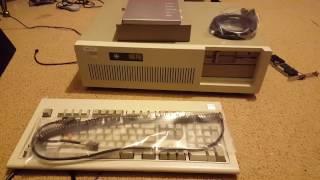 New IBM AT setup part 1