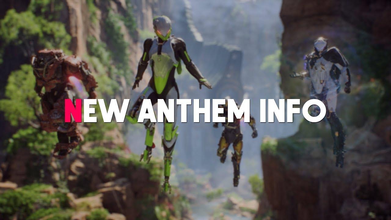 New Anthem Gameplay How Multiplayer Singleplayer Works