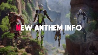 New Anthem Gameplay! How Multiplayer/Singleplayer Works, Microtransactions & Release Date