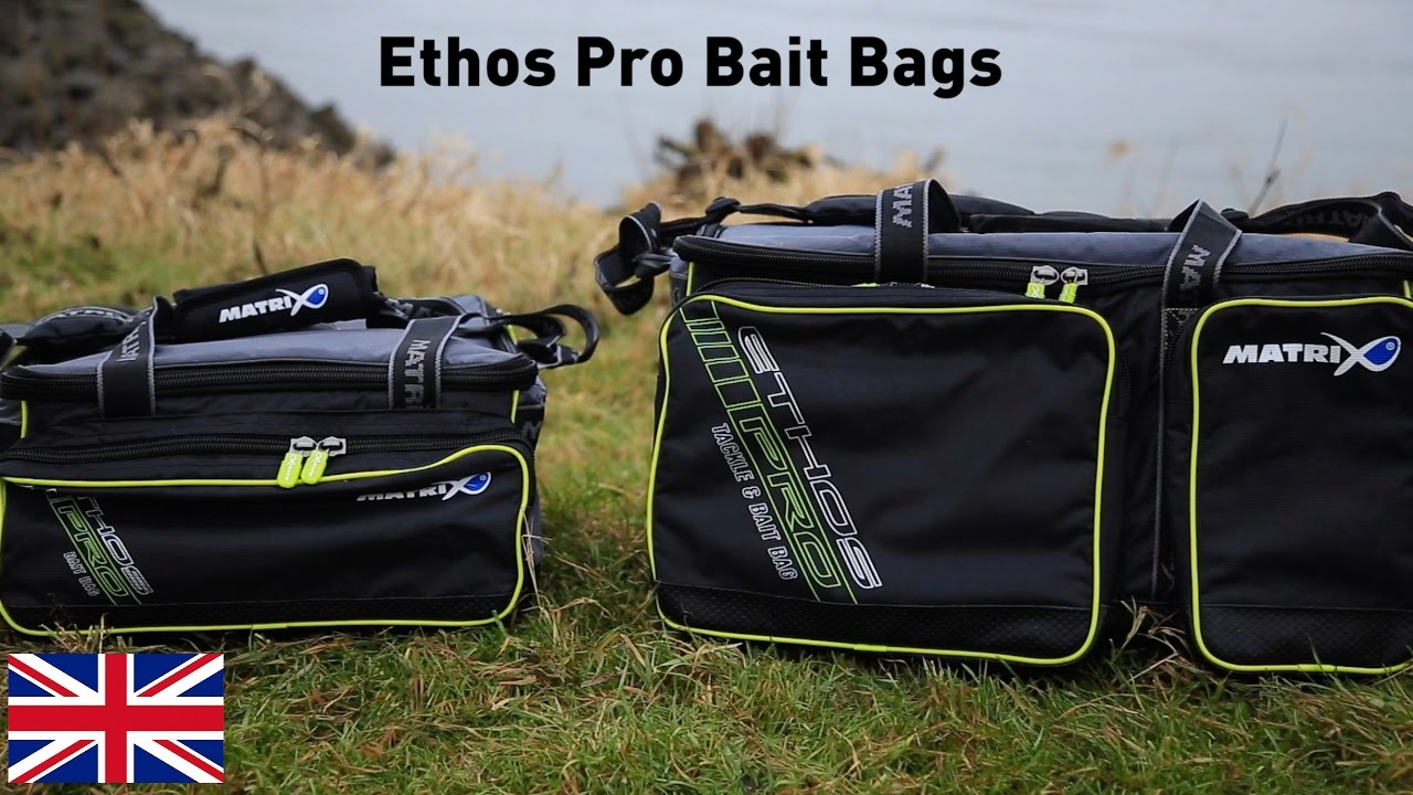 coarse & match fishing tv *** ethos pro bait bags - youtube, Hard Baits
