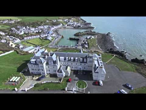 Portpatrick hotel, 4K promotional video for shearings hotels.