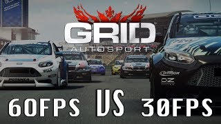 GRID: Autosport (Nintendo Switch) - FPS Options?