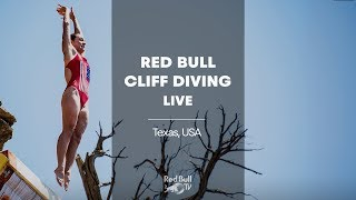 Red Bull Cliff Diving is back in action: LIVE from Texas, USA.
