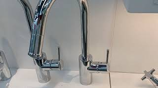 Hansgrohe 14872000 Talis S2 Variark kitchen faucet pull out spout