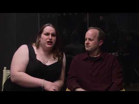 "Chicago Feminist Film Festival '17 - Brooke Guinan & James Baker Interview (""Woman on Fire"")"
