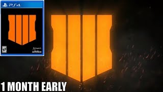 BLACK OPS 4 RELEASES ONE MONTH EARLY IN OCTOBER! (BLACK OPS 4 RELEASE DATE) thumbnail