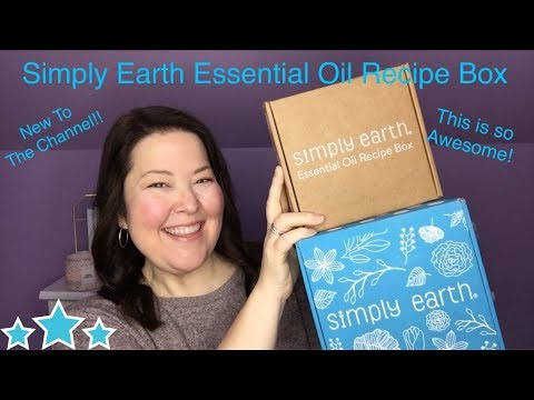 simply-earth-unboxing-november-2019-/-essential-oil-recipe-box