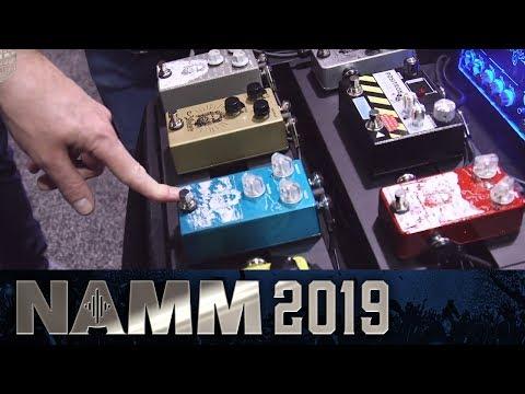 Mythical Mythos Pedals - NAMM 2019