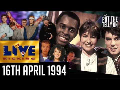 Live & Kicking  Final part of first ever series  BBC1 16041994