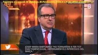 """Bartomeu: """"A algú no va agradar que pel Camp Nou passés la Via Catalana"""""""