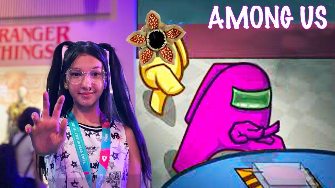 O IMPOSTOR PEGOU A LULEVEN (Among us) | Luluca Games