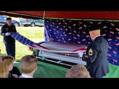 Gerald graveside service