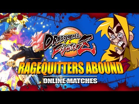 RAGEQUITTERS ABOUND: Dragon Ball FighterZ - Ranked Matches