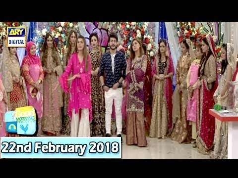 "Good Morning Pakistan - ""Maa, Maamta Aur Makeup Day 4 - 22nd February 2018 - ARY Digital Show"