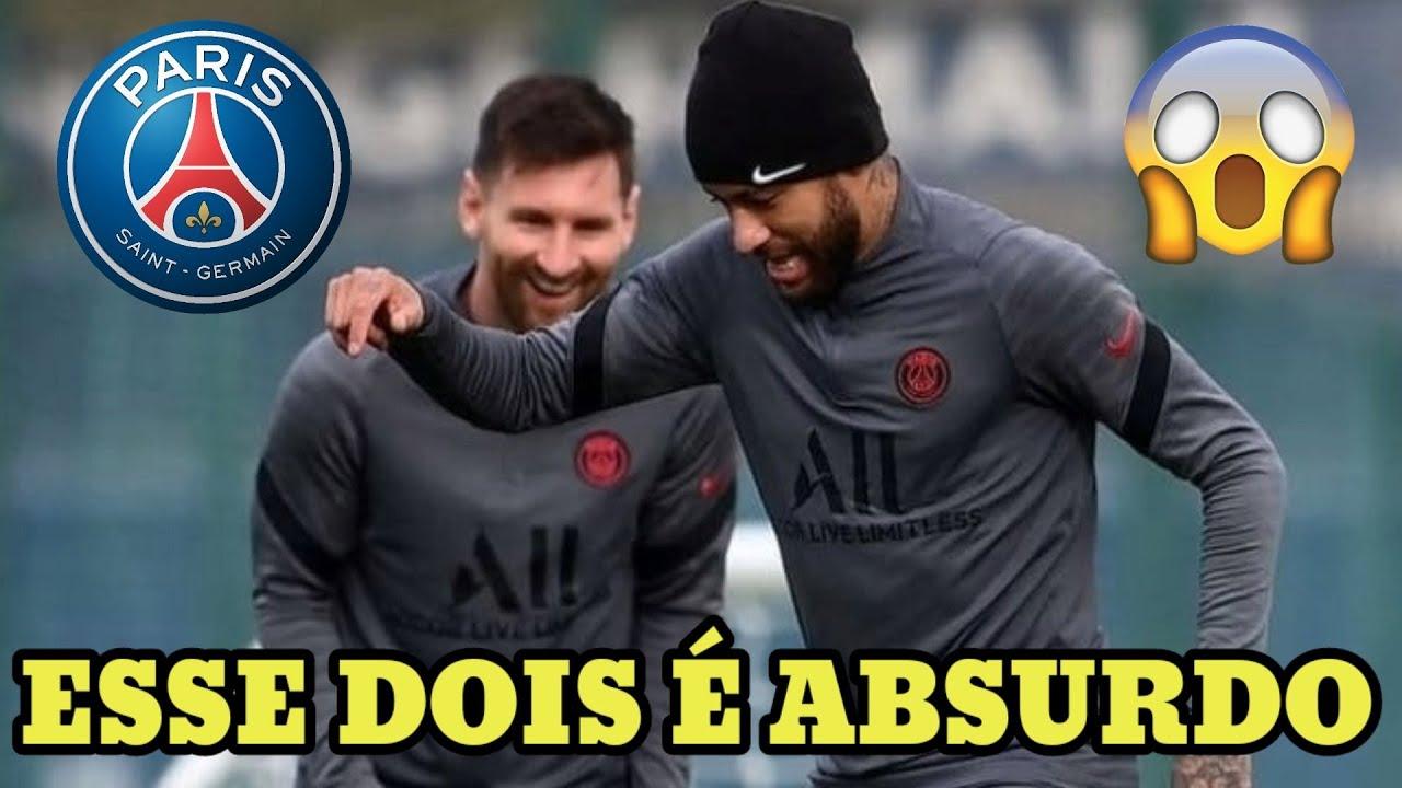 Download OLHA O QUE NEYMAR E MESSI FIZERAM NO TREINO DO PSG 😯