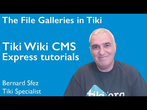 The File Galleries in #Tiki